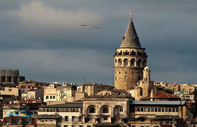برج-غلطة في اسطنبول التركية